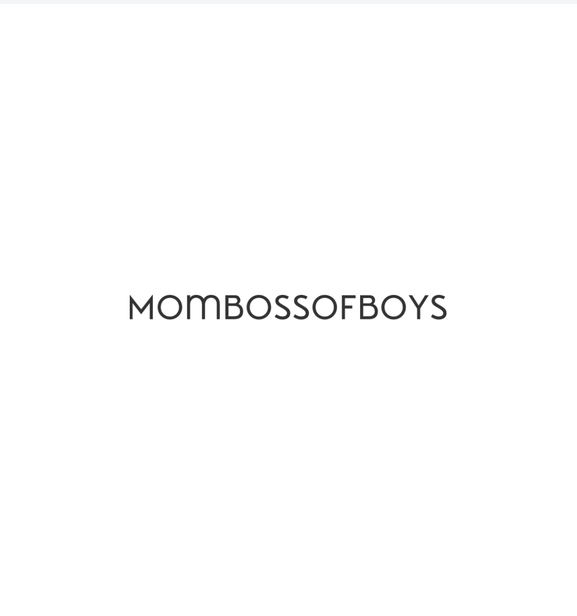 Mom Boss of Boys